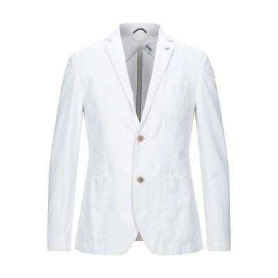 アティピコ AT.P.CO テーラードジャケット ホワイト 48 コットン 75% / リネン 25% テーラードジャケット