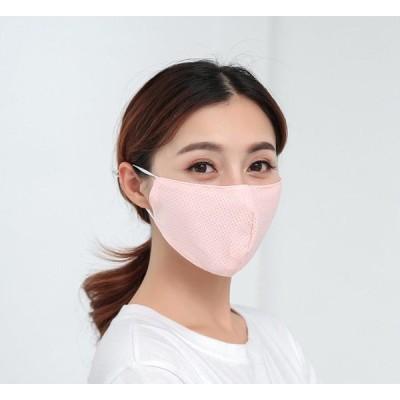 送料無料 送料込み 洗って使えるマスク サイズ調整可能 メッシュ素材 冷感マスク 男女兼用 親子マスク 涼しい夏マスク「クーポン対象」