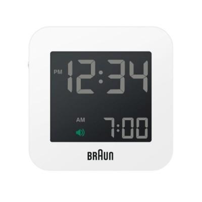 正規輸入品 BRAUN(ブラウン) 目覚まし時計 BNC008WHWH