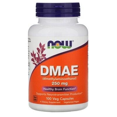 DMAE, 250 mg, 100 Veg Capsules