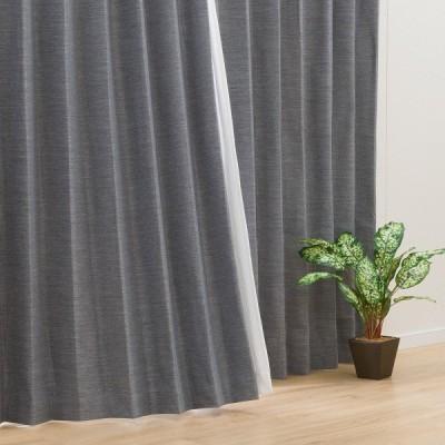(1枚入り)遮光2級・遮熱カーテン(ラビア100X110X1) ニトリ 『玄関先迄納品』