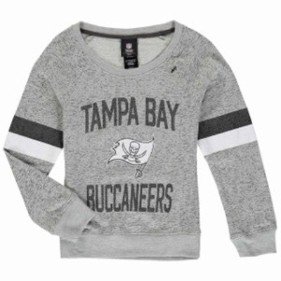 Outerstuff アウタースタッフ スポーツ用品  Tampa Bay Buccaneers Girls Youth Gray My City Boat Neck Pullover Sweatsh
