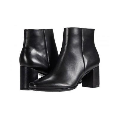 ECCO エコー レディース 女性用 シューズ 靴 ブーツ アンクル ショートブーツ Shape 60 Squared Ankle Bootie - Black