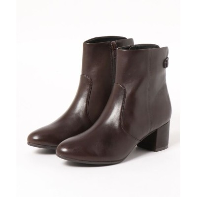 Mode et Jacomo×ing / ベルト付きショートブーツ WOMEN シューズ > ブーツ