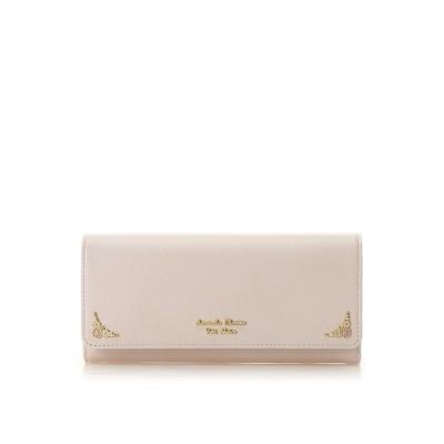 サマンサタバサプチチョイス フラワーモチーフシリーズ(長財布) ピンク
