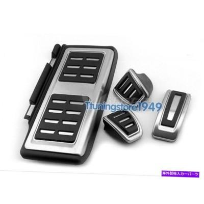 Foot Pedal フットレスト燃料ブレーキMTペダルプレートカバーにアウディA3 S3(8V)2013アップLHD Foot rest Fuel Brake MT pedal Plate Cover For Au