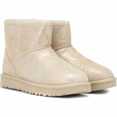 アグ Ugg レディース ブーツ シューズ・靴 classic mini ii stardust boots Metallic Gold