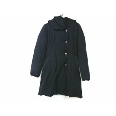 アナイ ANAYI ダウンコート サイズ38 M レディース 美品 - ダークネイビー 長袖/冬【中古】20200728