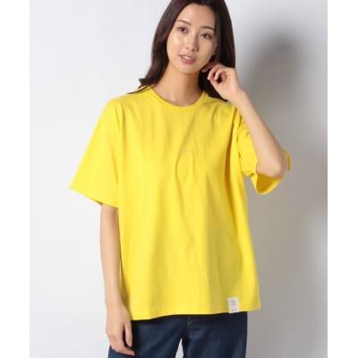 (FRAPBOIS/フラボア)PARK Tシャツ/レディース イエロー