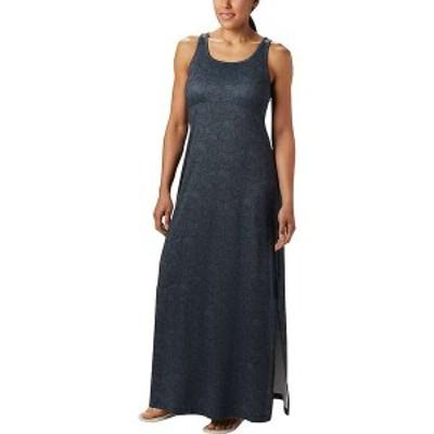 コロンビア レディース ワンピース トップス Columbia Women's Freezer Maxi Dress Black Seaside Swirls Print