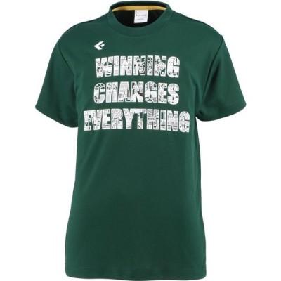 0S JRプリントTシャツ converse(コンバース) バスケットTシャツ J (cb401353-4700)