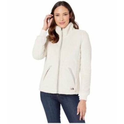 ノースフェイス レディース コート アウター Campshire Full Zip Jacket Vintage White/Dove Grey