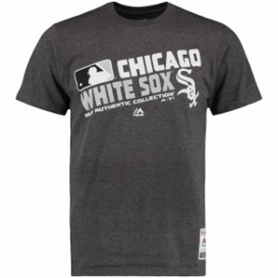 Majestic マジェスティック スポーツ用品  Majestic Chicago White Sox Black Authentic Collection Team Choice Heathere