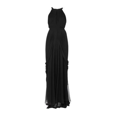 アルベルタ フェレッティ ALBERTA FERRETTI ロングワンピース&ドレス ブラック 38 レーヨン 100% / シルク / ポリエステ
