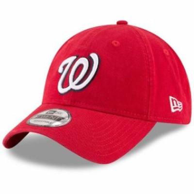 New Era ニュー エラ スポーツ用品  New Era Washington Nationals Red Game Replica Core Classic 9TWENTY Adjustable Hat
