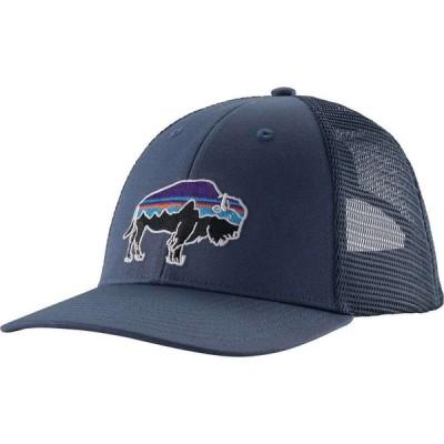パタゴニア Patagonia メンズ キャップ トラッカーハット 帽子 Fitz Roy Bison LoPro Trucker Hat Dolomite Blue