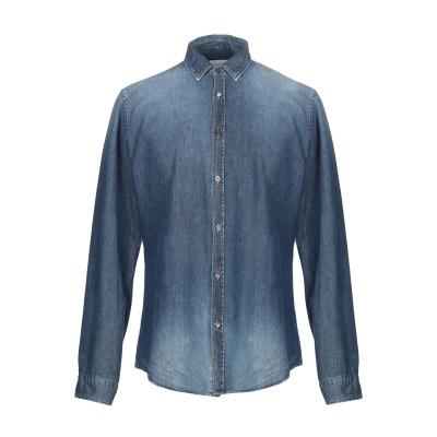 ドンダップ DONDUP デニムシャツ ブルー XL コットン 100% デニムシャツ