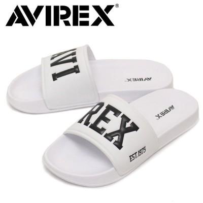 AVIREX U.S.A.(アビレックス) AV4620 BANSHEE バンシー シャワーサンダル WHITE