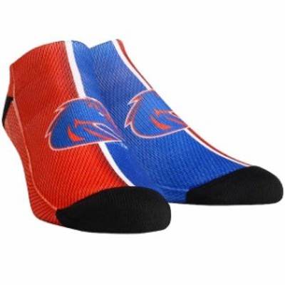 Rock Em ロックイーエム スポーツ用品  Boise State Broncos Campus Stripe Ankle Socks