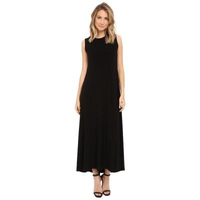 カマリカルチャー ワンピース トップス レディース Sleeveless Long Swing Dress Black