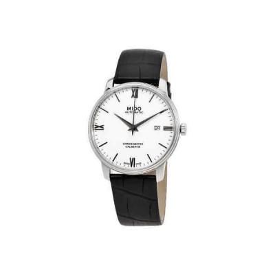 腕時計 ミドー メンズ Mido Baroncelli SI Automatic White Dial Men's Watch M027.408.16.018.00