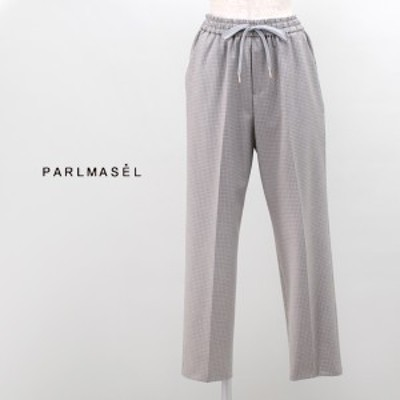 PARLMASEL パールマシェール レディース ハウンドトゥースイージーパンツ[L-9270]【2019FW】