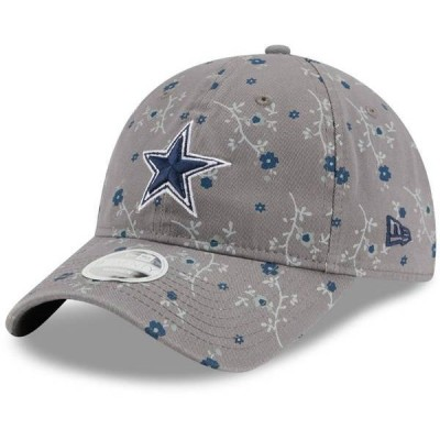 ニューエラ レディース 帽子 アクセサリー New Era Women's Dallas Cowboys Blossom 9Twenty Adjustable Hat