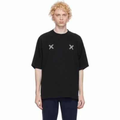 ケンゾー Kenzo メンズ Tシャツ トップス Black Skate Logo T-Shirt Black