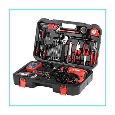 High Specification 72 Piece Multifunction Mixed Tool Set Portable Home Toolbox for Disassembling and Assembling Screws Measuring Length Cutt