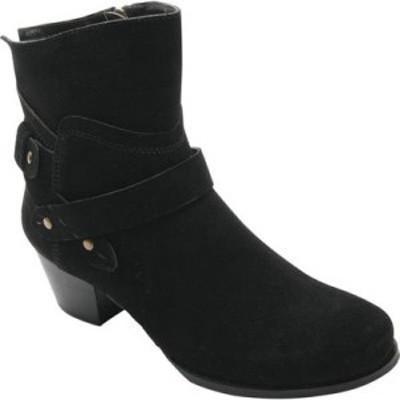 ロスホマーソン Ros Hommerson レディース ブーツ シューズ・靴 Brittany Boot Black Nubuck