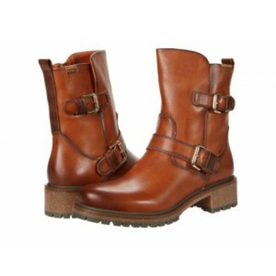 Pikolinos レディース 女性用 シューズ 靴 ブーツ アンクル ショートブーツ Aspe W9Z-8688 Brandy【送料無料】