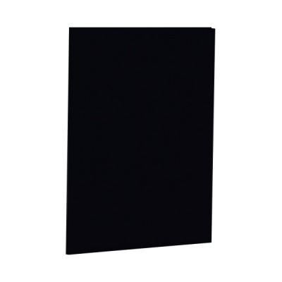 【送料無料】【法人(会社・企業)様限定】ナカバヤシ 証書ファイル 布クロス A4 二つ折り 同色コーナー固定タイプ 黒 1冊