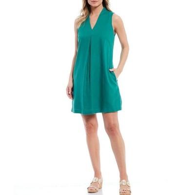 トッミーバハマ レディース ワンピース トップス Daphnie Linen Blend Shift Dress