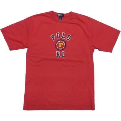 ポロ ラルフローレン ボーイズサイズ 半袖 プリント Tシャツ レッド系 Polo Ralph Lauren boys 029