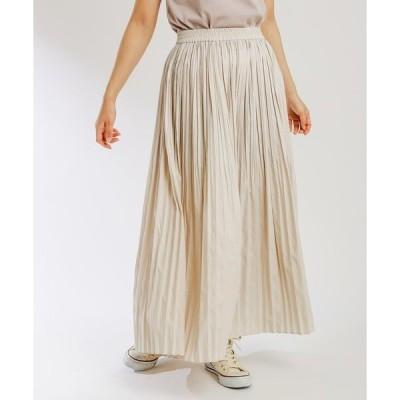 スカート ランダムプリーツスカート