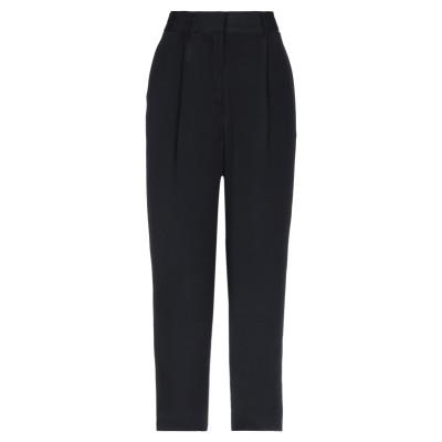 OTTOD'AME パンツ ブラック 40 レーヨン 100% パンツ