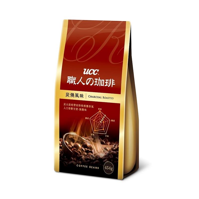 UCC 炭燒風味咖啡豆454g