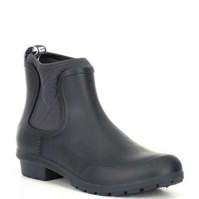 アグ レディース ブーツ&レインブーツ シューズ UGG Chevonne Rain Boots Navy