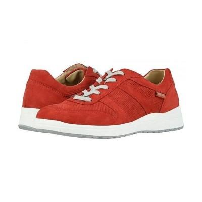 Mephisto メフィスト レディース 女性用 シューズ 靴 スニーカー 運動靴 Rebeca Perf - Scarlet Bucksoft