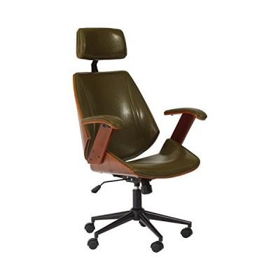 タマリビング(Tamaliving) ケルサ ホームチェア ロッキング機能 デスクチェア パソコンチェア 学習チェア 肘掛け椅子 キャスター