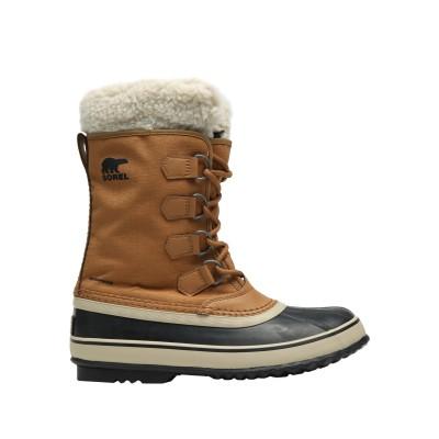 ソレル SOREL ブーツ キャメル 5 革 / 紡績繊維 ブーツ