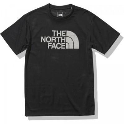 ザノースフェイス(THE NORTH FACE) ショートスリーブベントロゴクルー メンズ NT12187-K