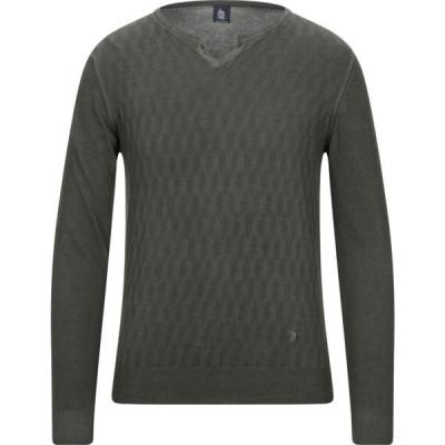マリーナ ヨッティング MARINA YACHTING メンズ ニット・セーター トップス sweater Dark green