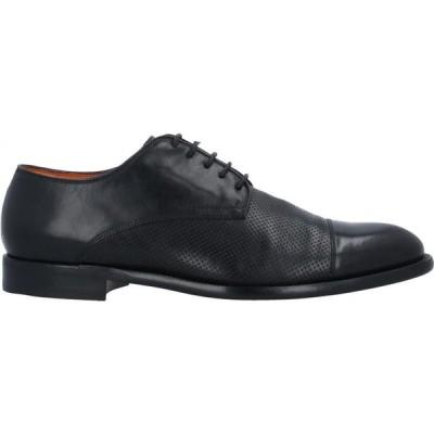 ボッティ BOTTI メンズ シューズ・靴 laced shoes Black