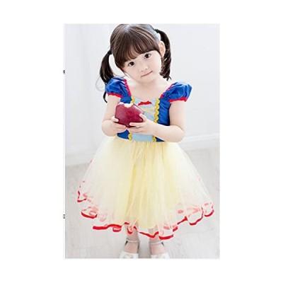 Preco-Paprico 白雪姫 小さめ ワンピース ミニドレス コスプレ かわいい