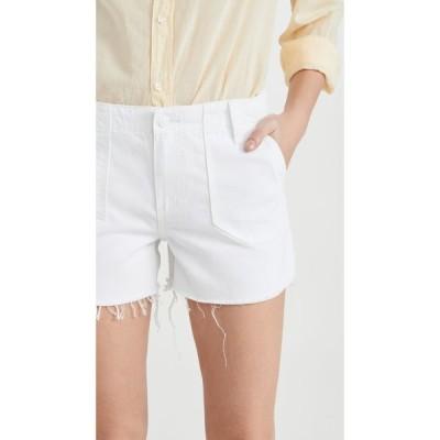 ペイジ PAIGE レディース ショートパンツ ボトムス・パンツ Mayslie Utility Shorts Crisp White