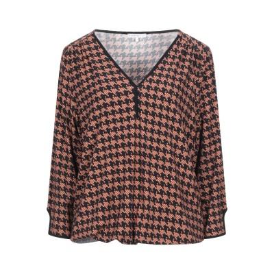 XANDRES T シャツ キャメル 1 レーヨン 96% / ポリウレタン 4% T シャツ