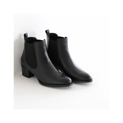 AMIMANERA アミマネラ ヒールアップサイドゴアブーツNo.1135 レディース 靴