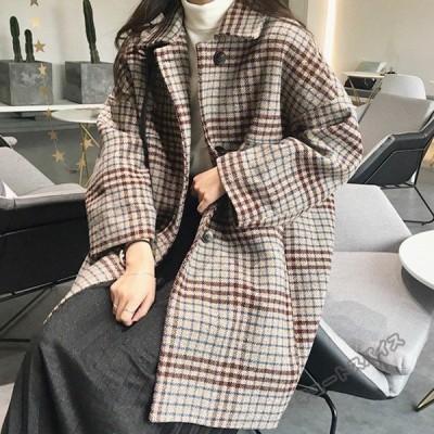 コート レディース チェスターコート 薄手 厚手 綿いり ゆったりカジュアル 秋冬 長袖 通勤 ジャケット 韓国風 上品 大人