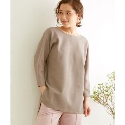 tシャツ Tシャツ ブークレチュニックプルオーバー